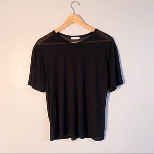 Aritzia TNA sheer t-shirt